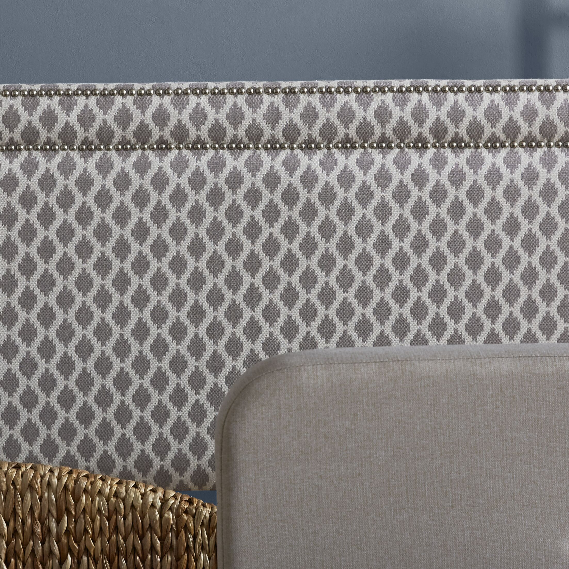 Clybourn Upholstered Panel Headboard Size: King