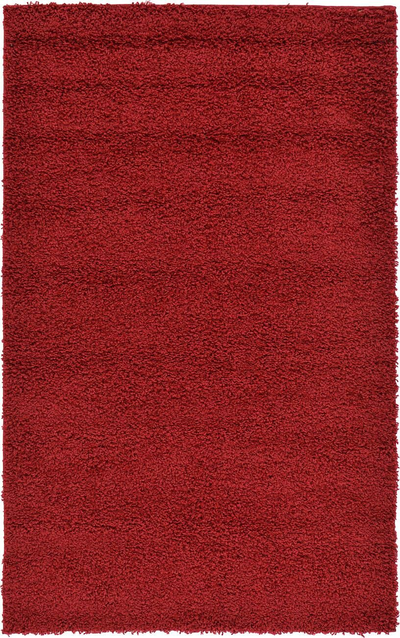 Nicolaus Red Area Rug Rug Size: Rectangle 7' x 10'