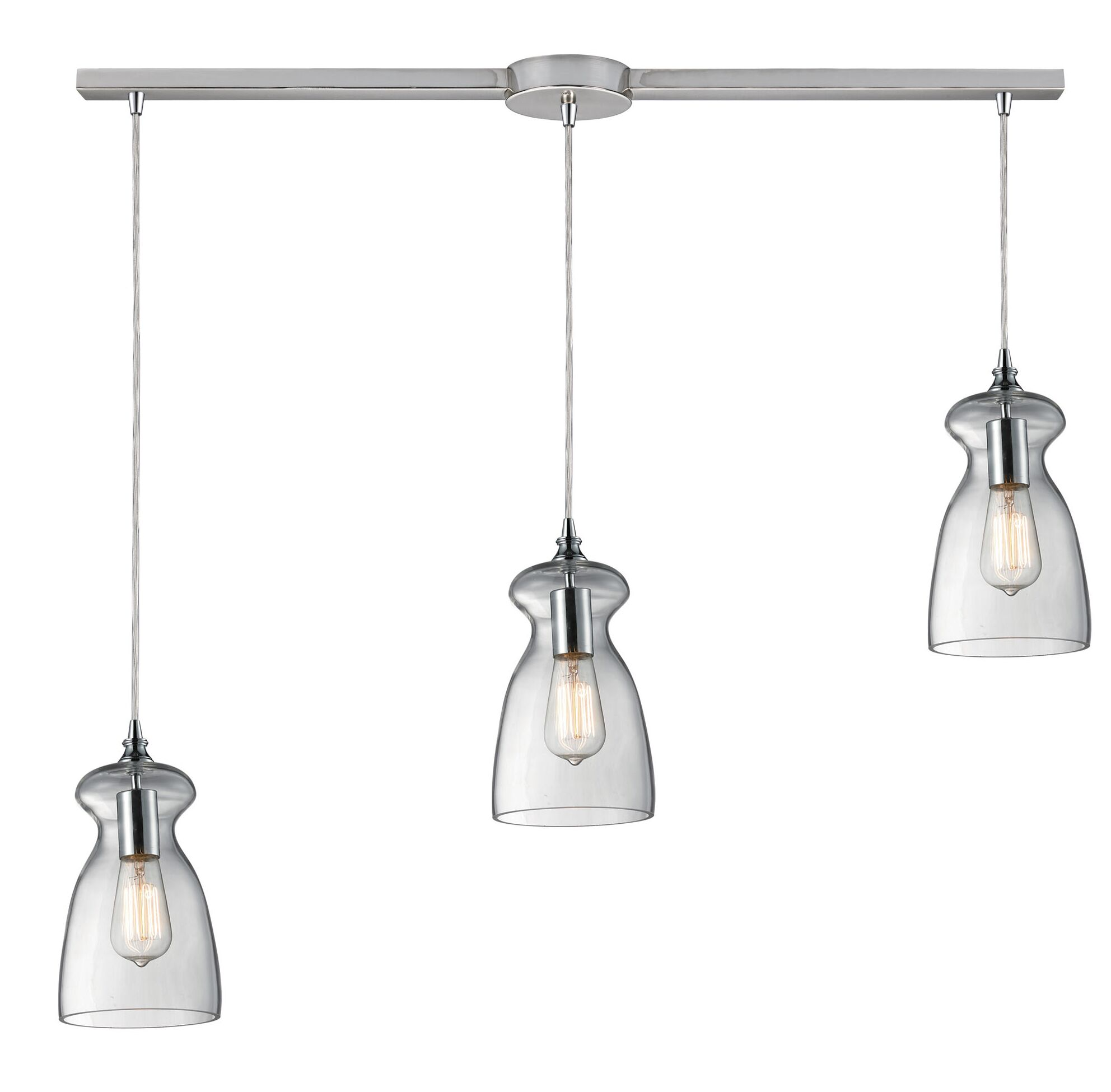 Topete 3-Light Cluster Pendant