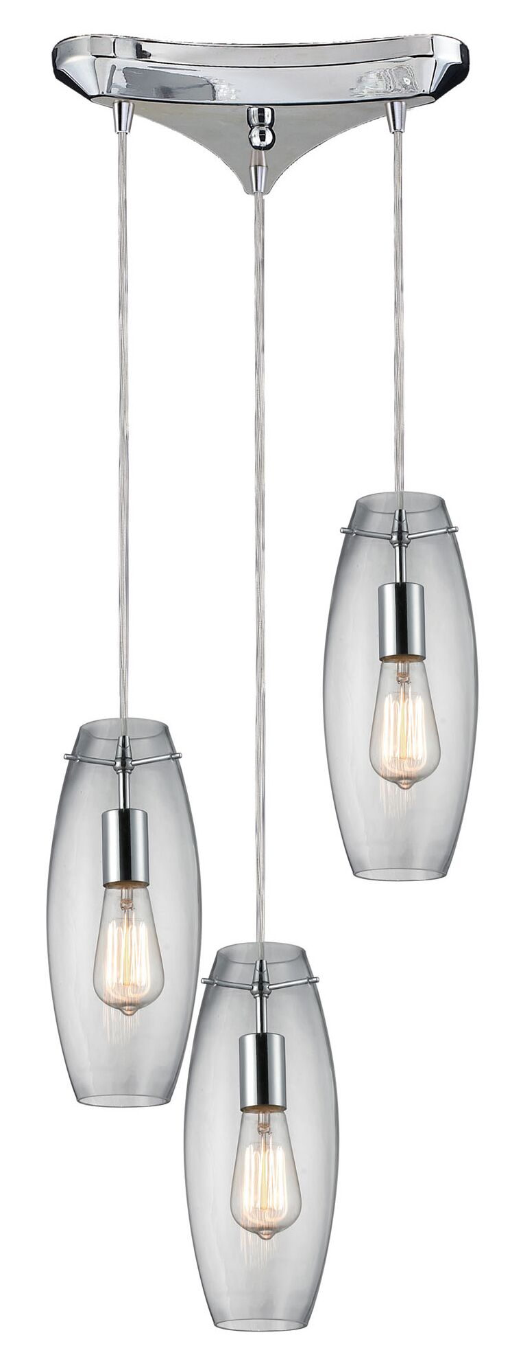 Topete 3-Light Pendant