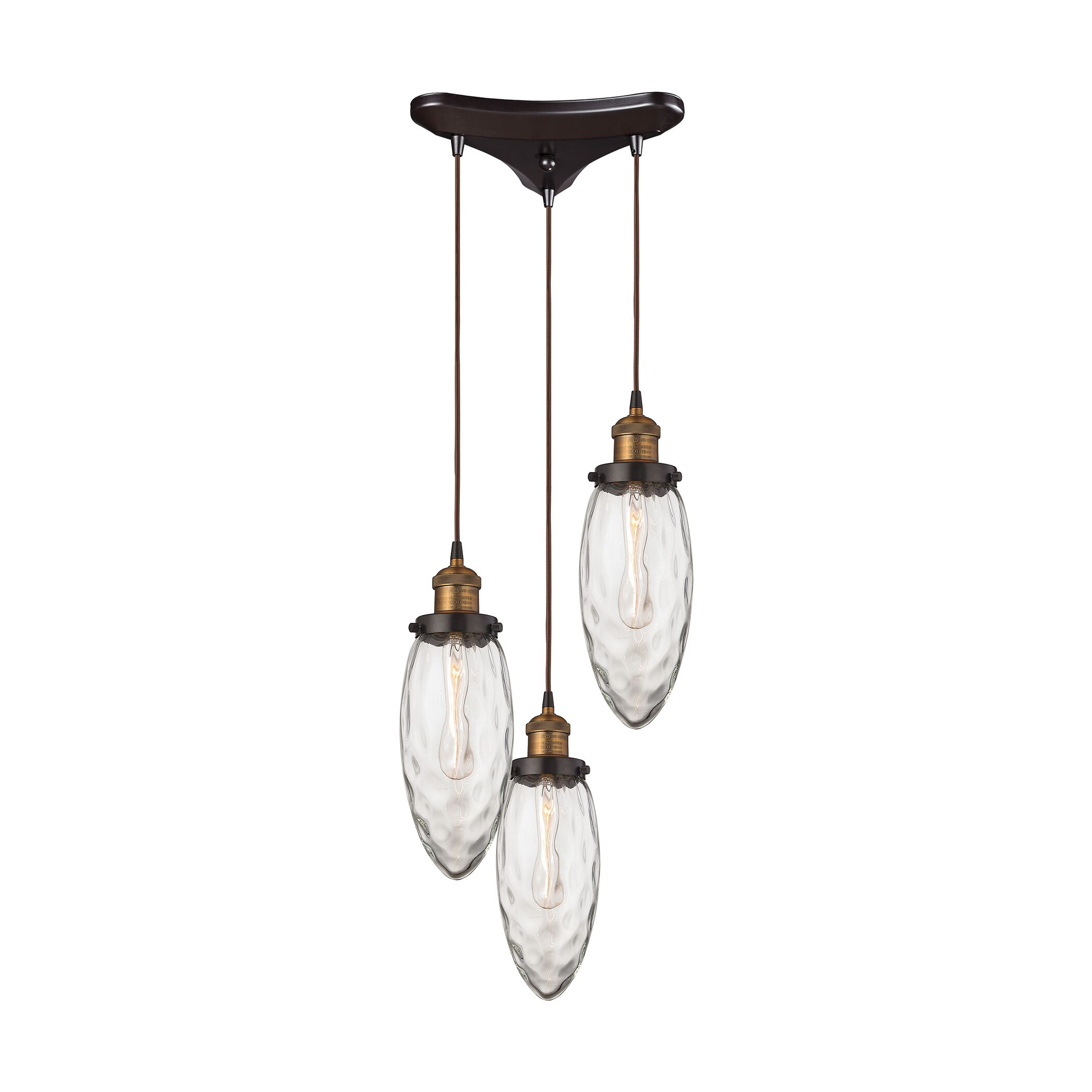 Biddle 3-Light Pendant