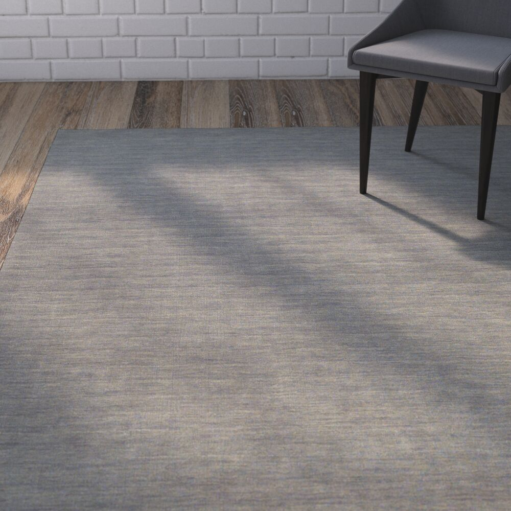 Larissa Light Gray Area Rug Rug Size: Rectangle 5' x 8'