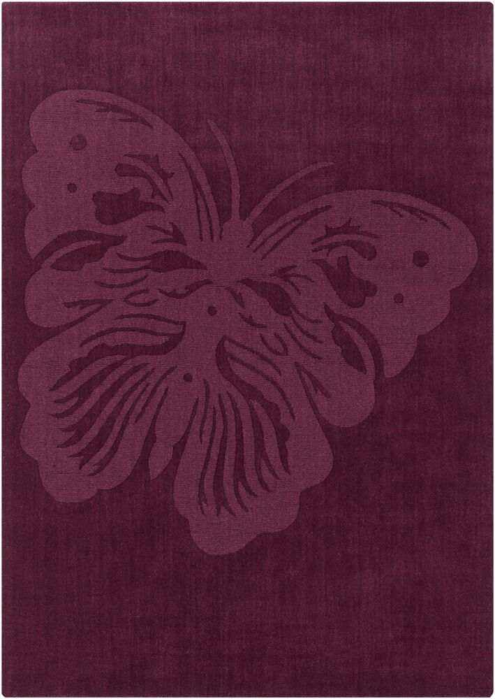 Gess Butterfly Rug Rug Size: 5' x 7'