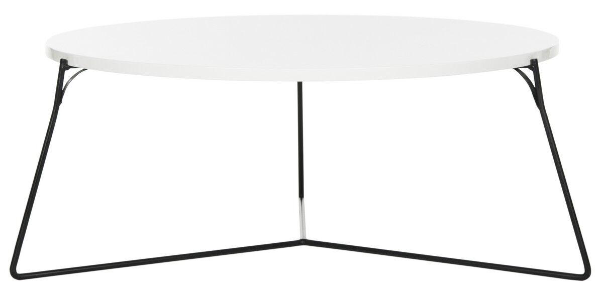 Dagostino Coffee Table Top Color: Lacquer White