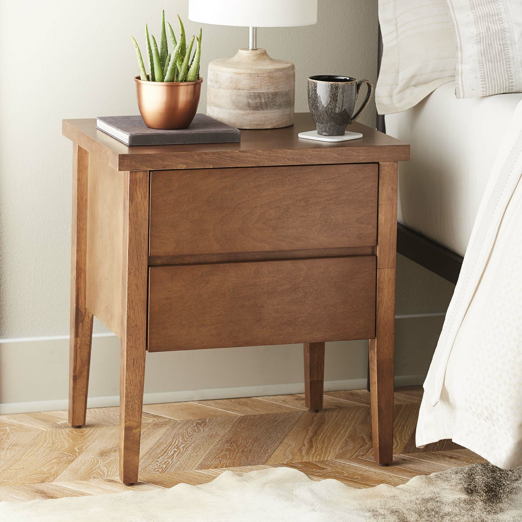 Lysistrate 2 Drawer Nightstand