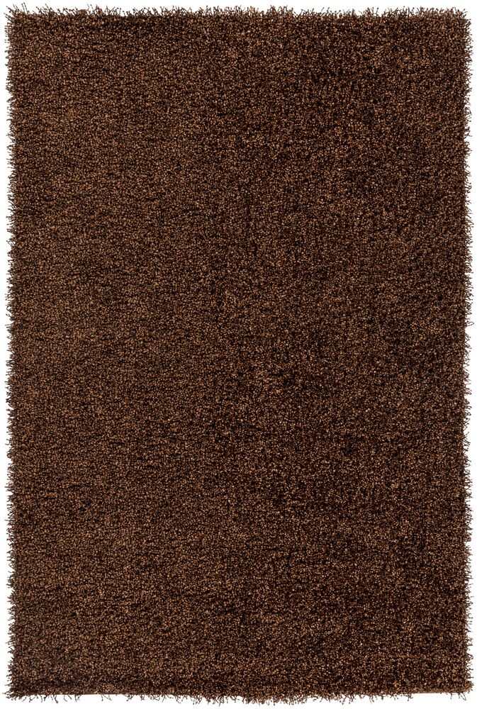 Mchaney Hand-Tufted  Brown Area Rug Rug Size: Round 6'