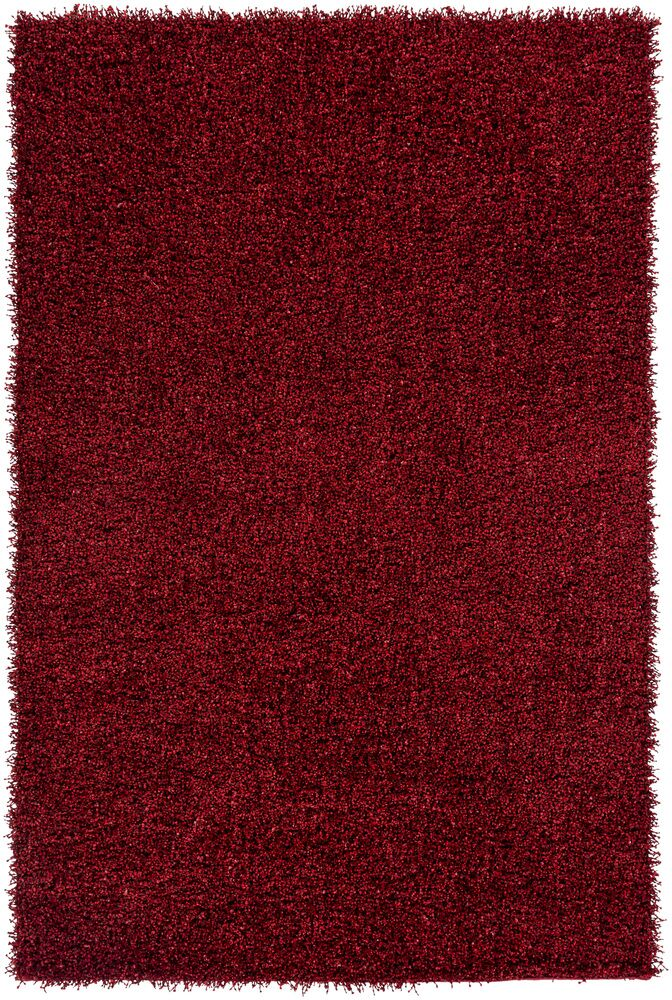 Mchaney Hand-TuftedRed Area Rug Rug Size: Rectangle 9' x 12'