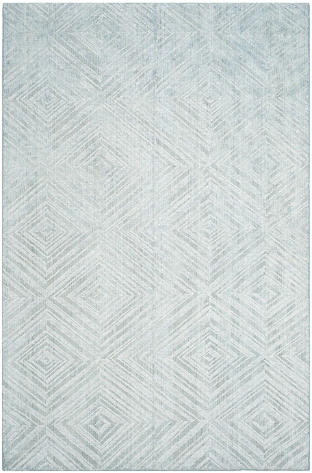 Maxim Hand-Woven Blue Area Rug Rug Size: Rectangle 8' x 10'