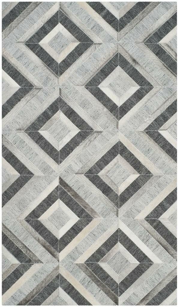 Sevastopol Hand-Woven Ivory/Dark Gray Area Rug Rug Size: Rectangle 3' x 5'