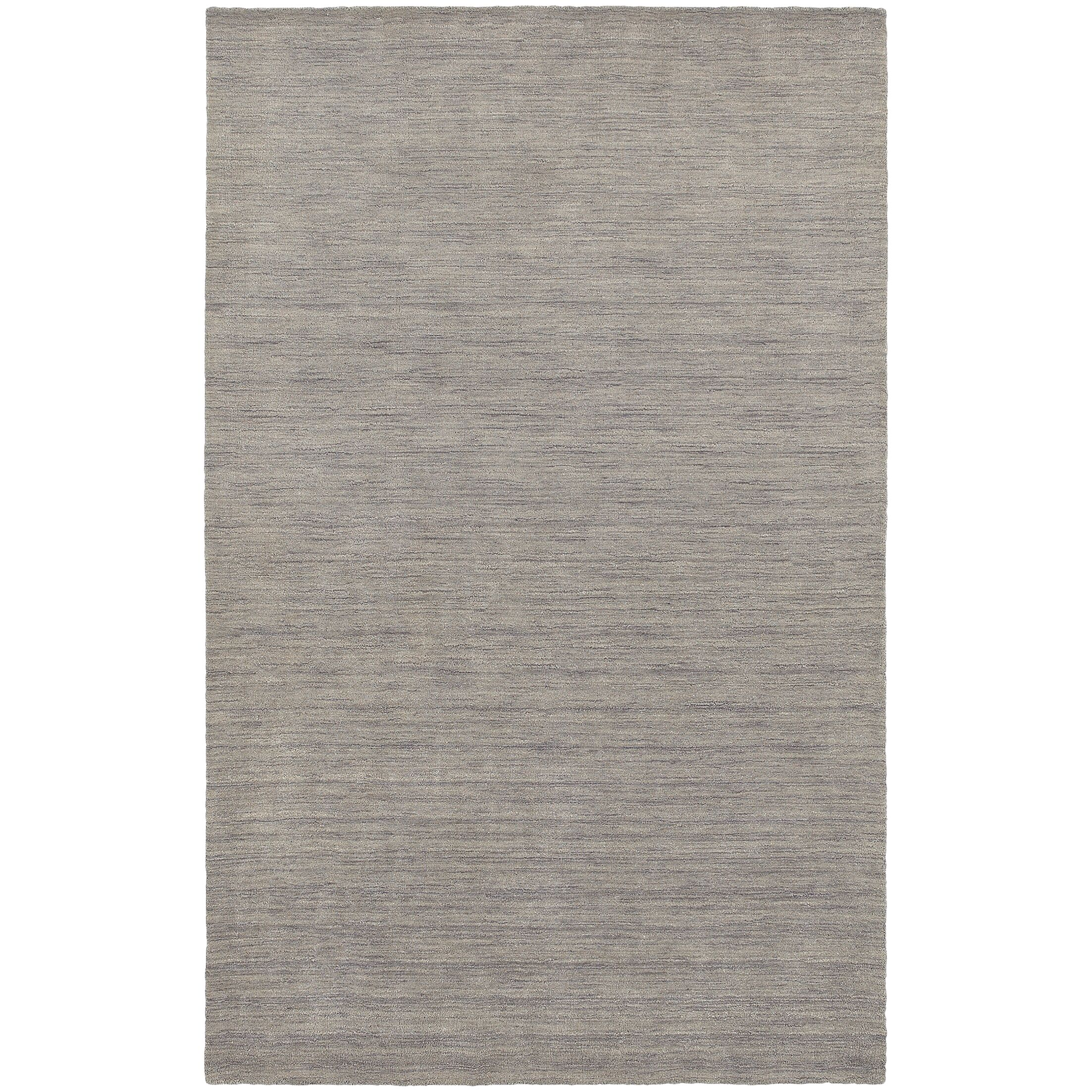 Barrientos Hand-Tufted Gray Area Rug Rug Size: Rectangle 5' x 8'