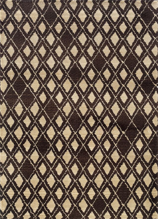 Feltner Brown/Ivory Area Rug Rug Size: Runner 2'7