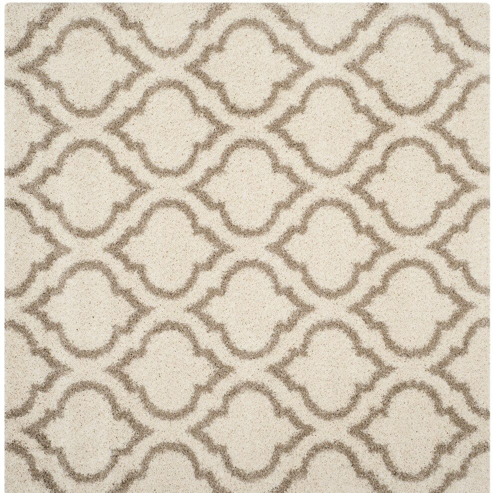 Melvin Brown/Beige Area Rug Rug Size: Square 7'