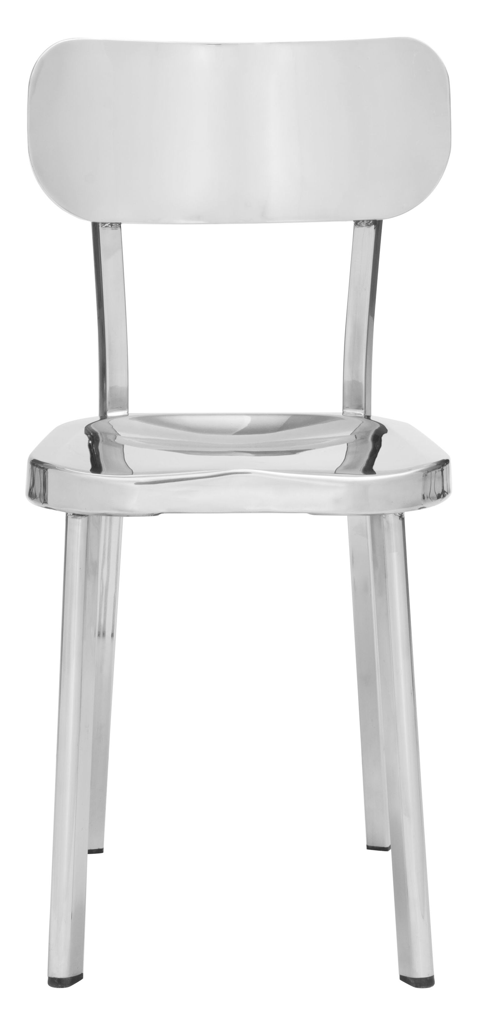 Rizzuto Stainless Steel Side Chair