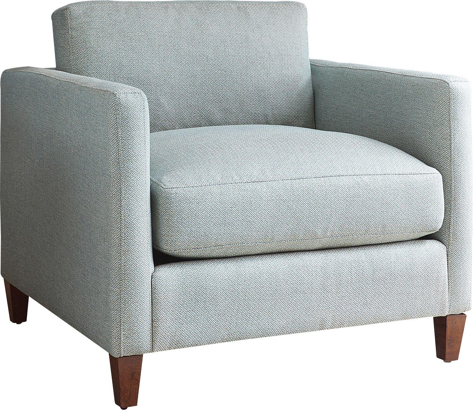 Colton Armchair Upholstery: Zula Oxblood