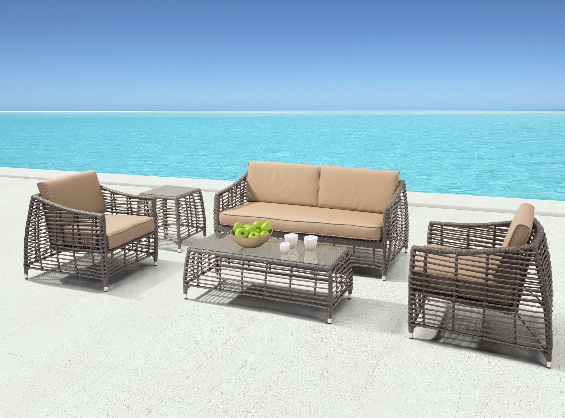 Goldberg Deep Seating Group with Cushions
