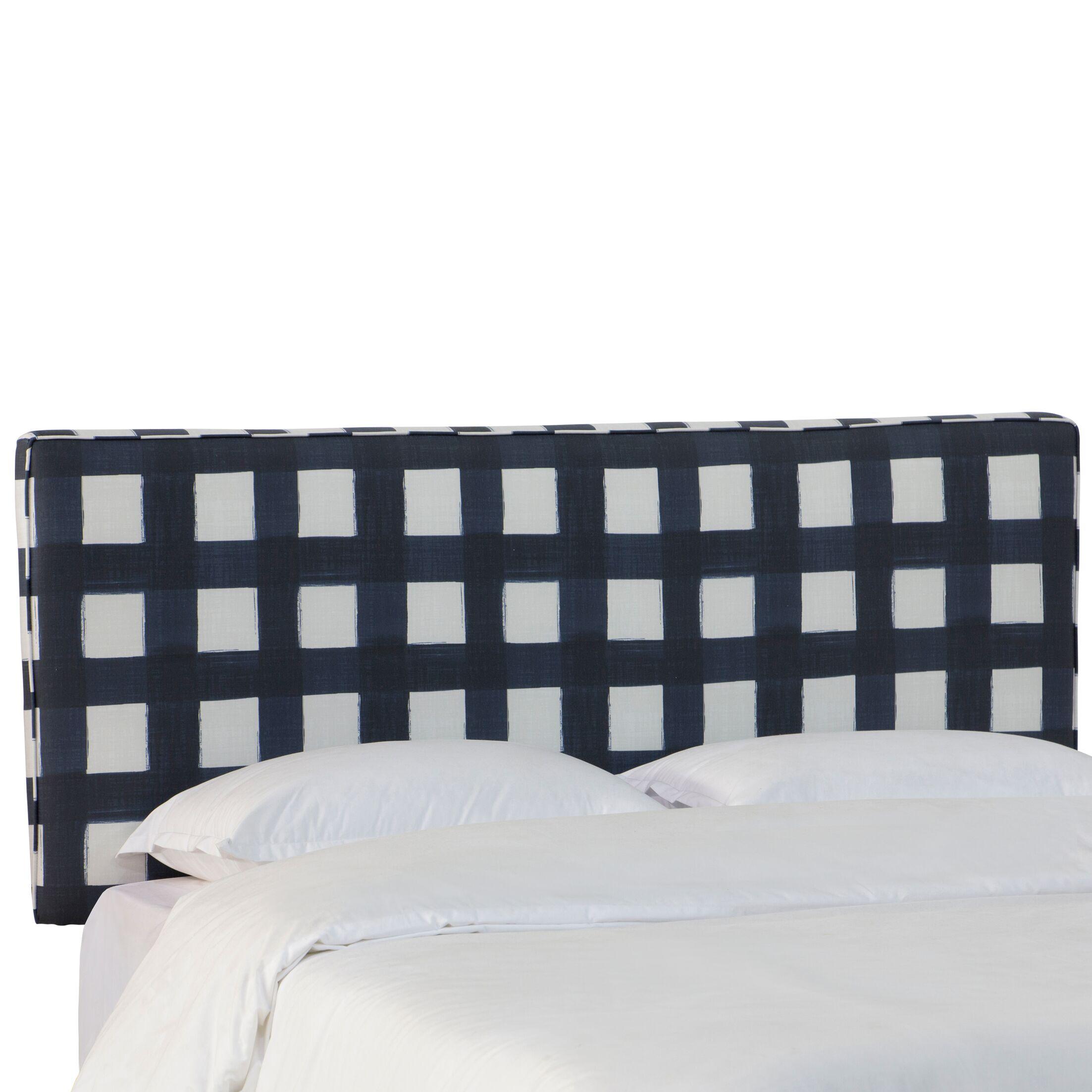 Sturgill Linen Upholstered Panel Headboard Size: Full