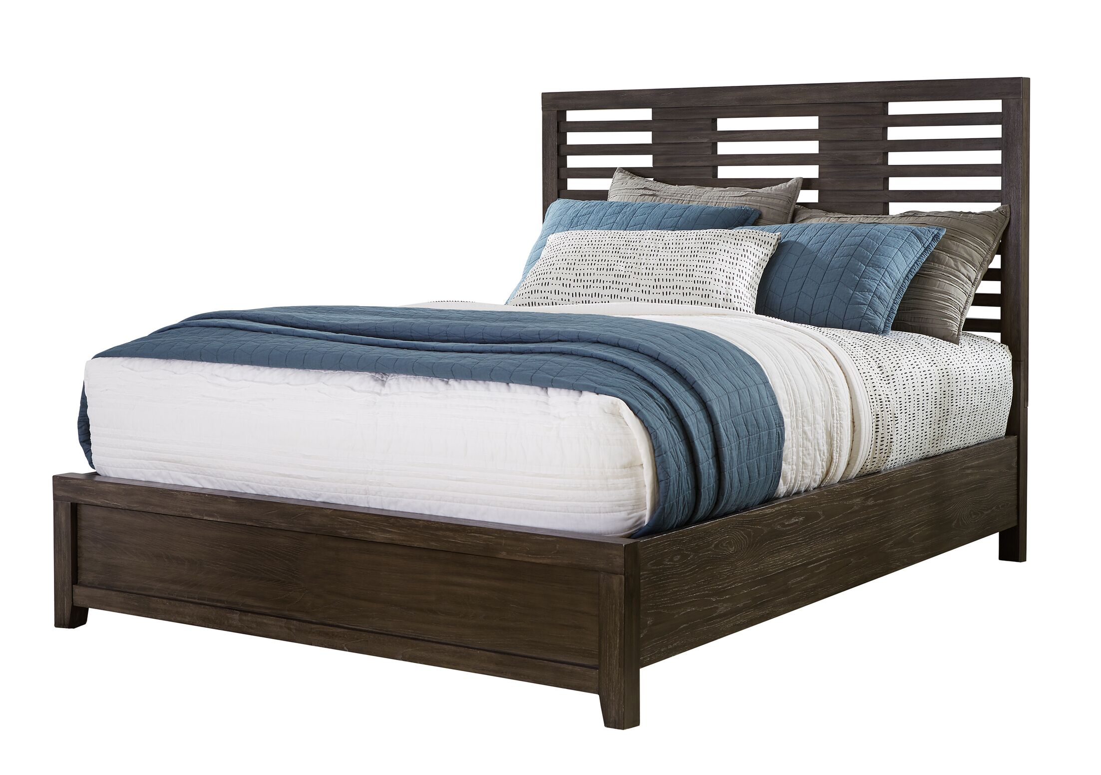 Vickrey Wood Platform Bed Size: King