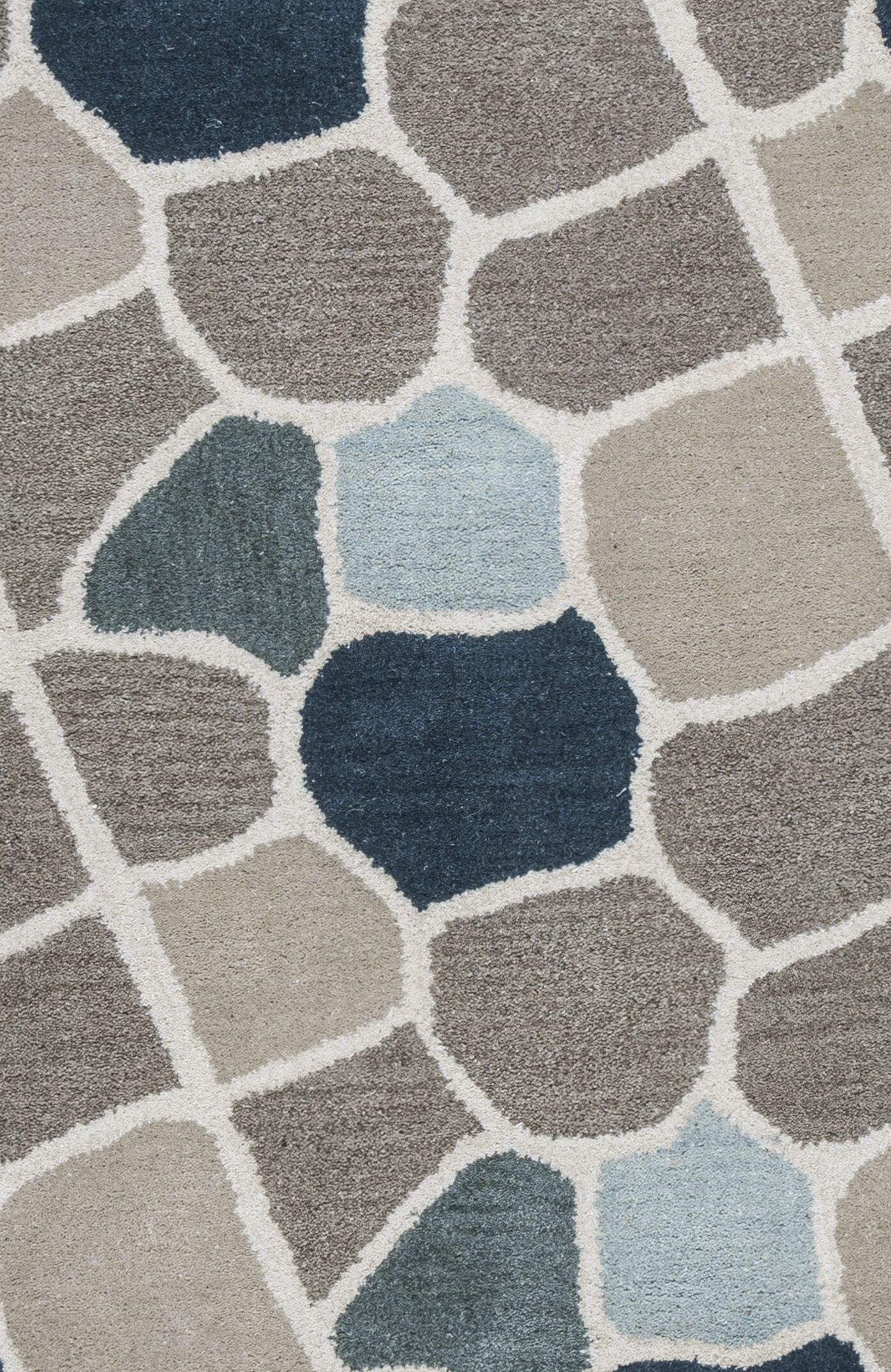 Galles Hand-Tufted Multi Area Rug Rug Size: Runner 2'6