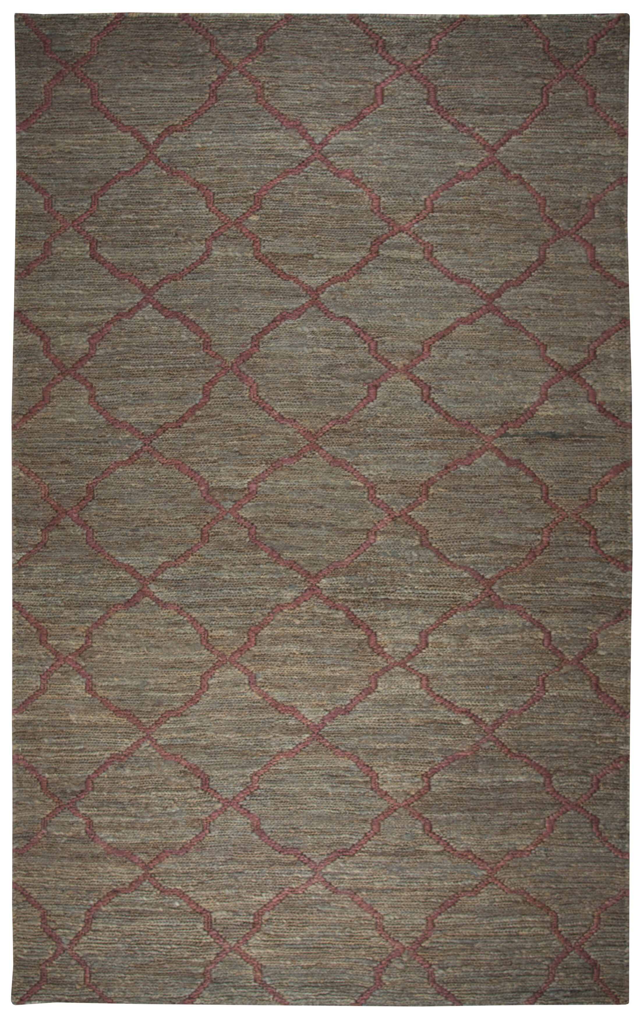 Masson Hand-Woven Brown Area Rug Size: Rectangle 8' x 10'