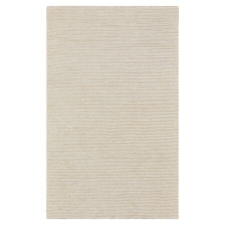 Dinardo Graphite Papyrus Striped Area Rug Rug Size: Rectangle 3'3