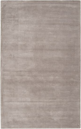 Cerny Graphite Ivory Striped Rug Rug Size: Rectangle 5' x 8'