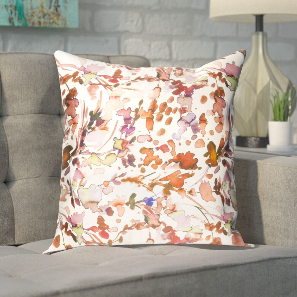Mishler Silk Pillow Cover Size: 22