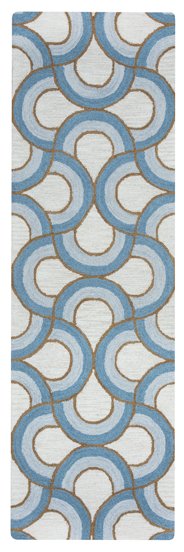 Visser Hand-Tufted Natural Rug Rug Size: Rectangle 5' x 8'