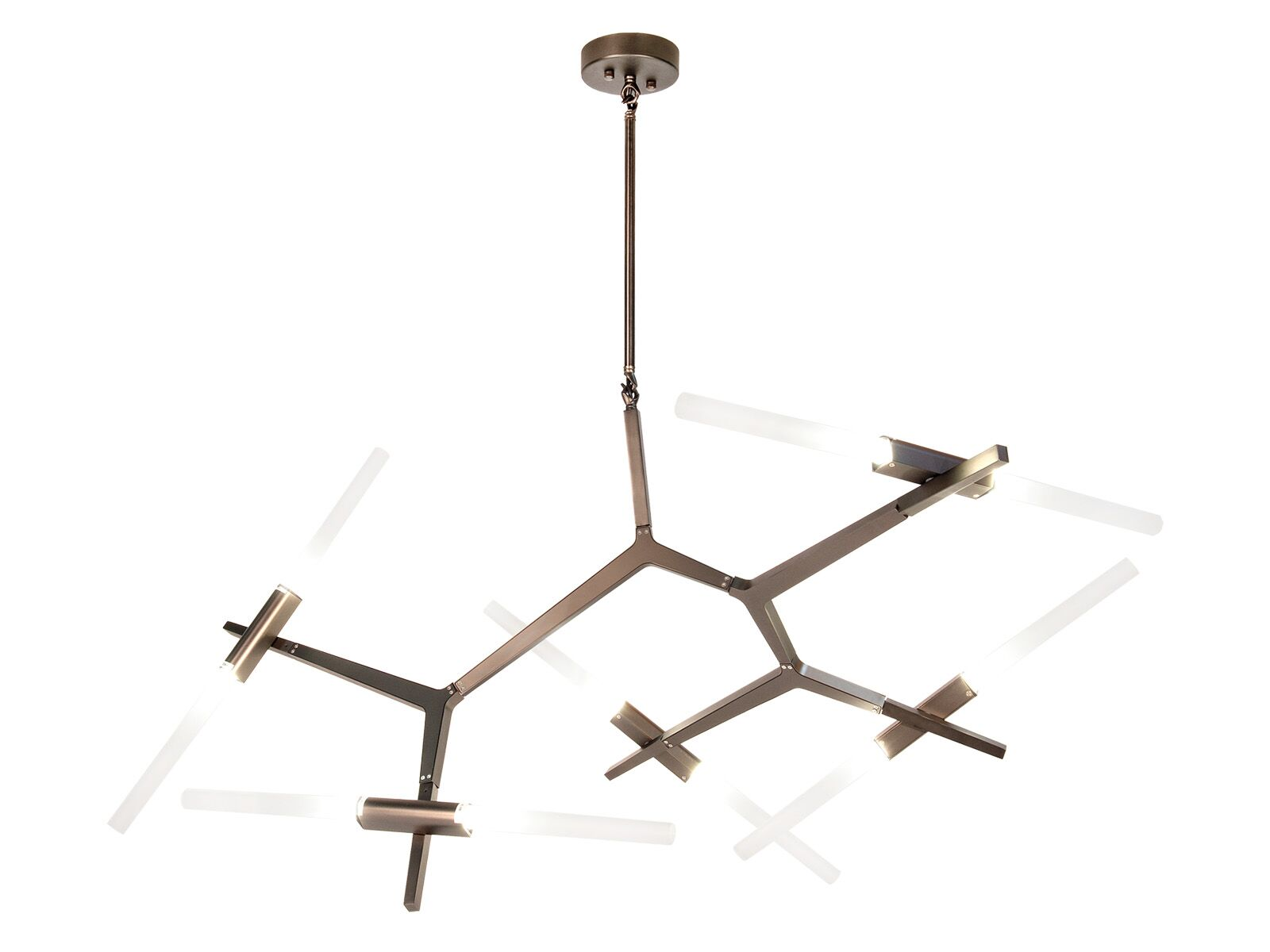 Cybill 10-Light Novelty Chandelier Finish: Dark Bronze