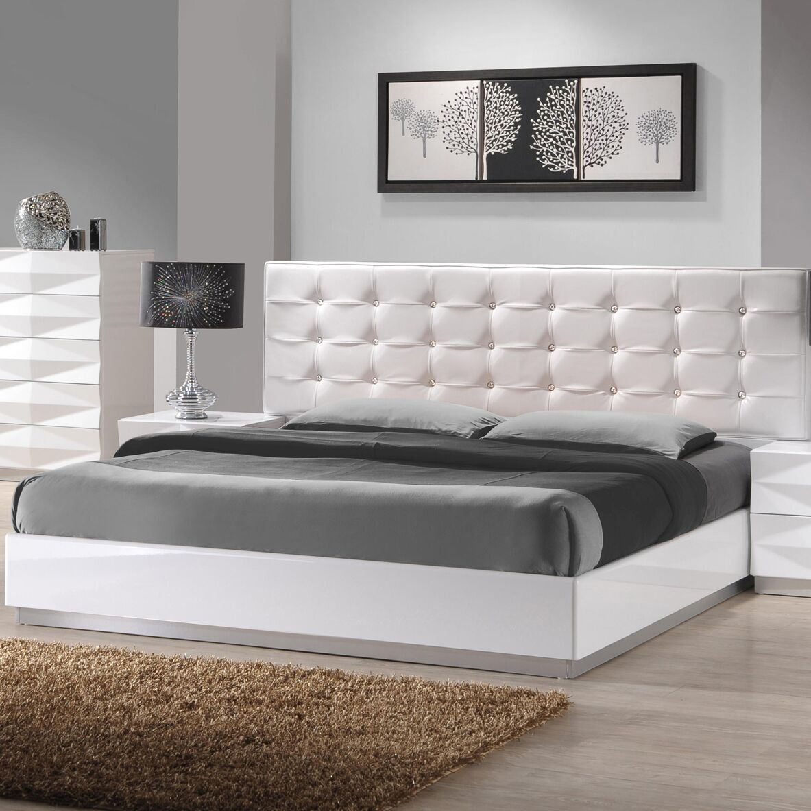 Baldree Platform Bed Size: King