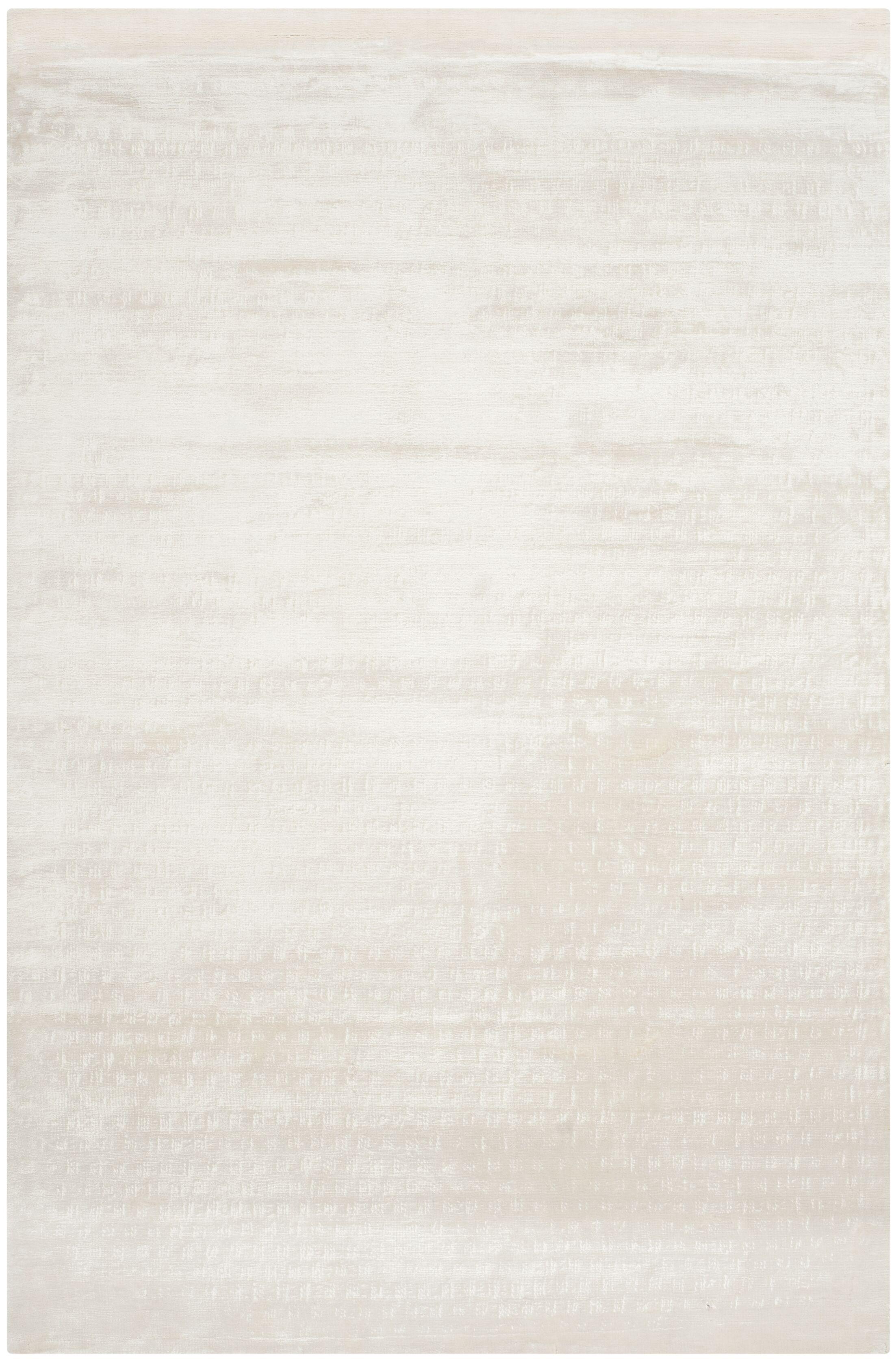 Maxim White Soild Rug Rug Size: Rectangle 2' x 3'