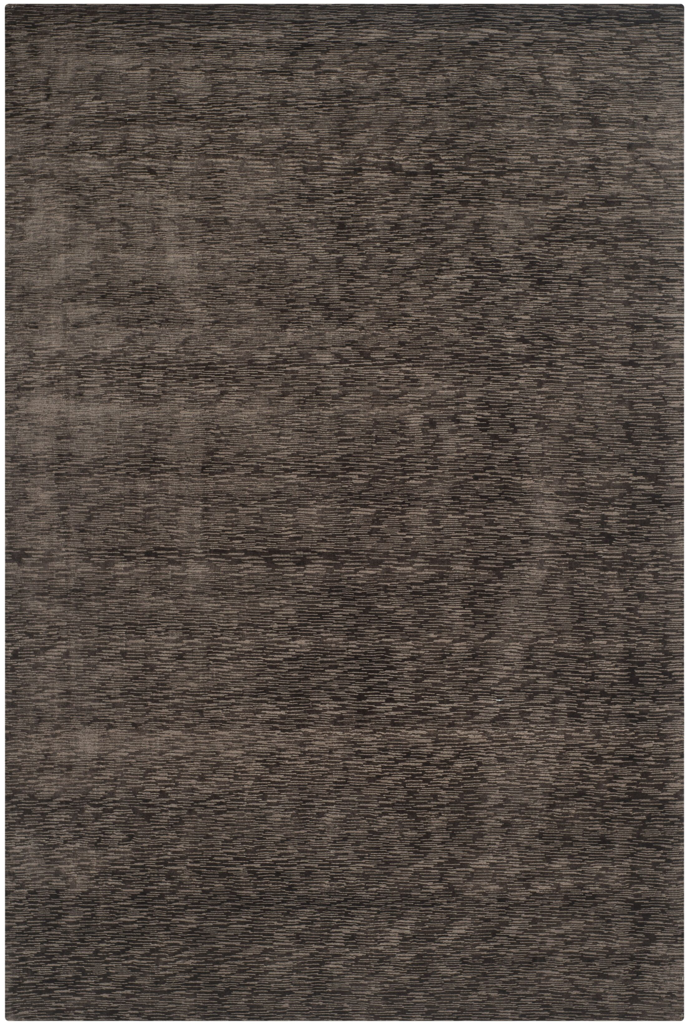 Maxim Charcoal Soild Rug Rug Size: Rectangle 9' x 12'