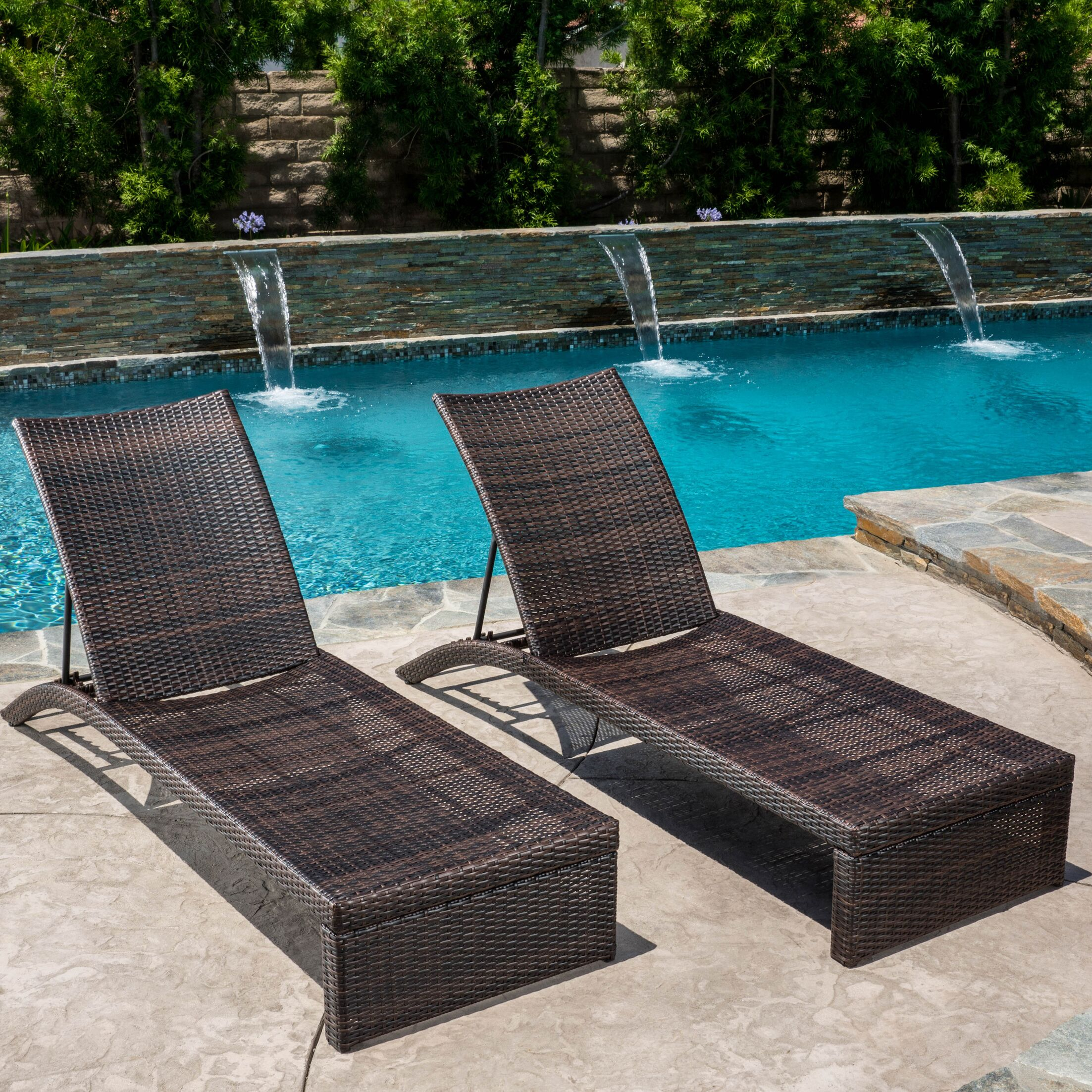 Acrion Reclining Chaise Lounge