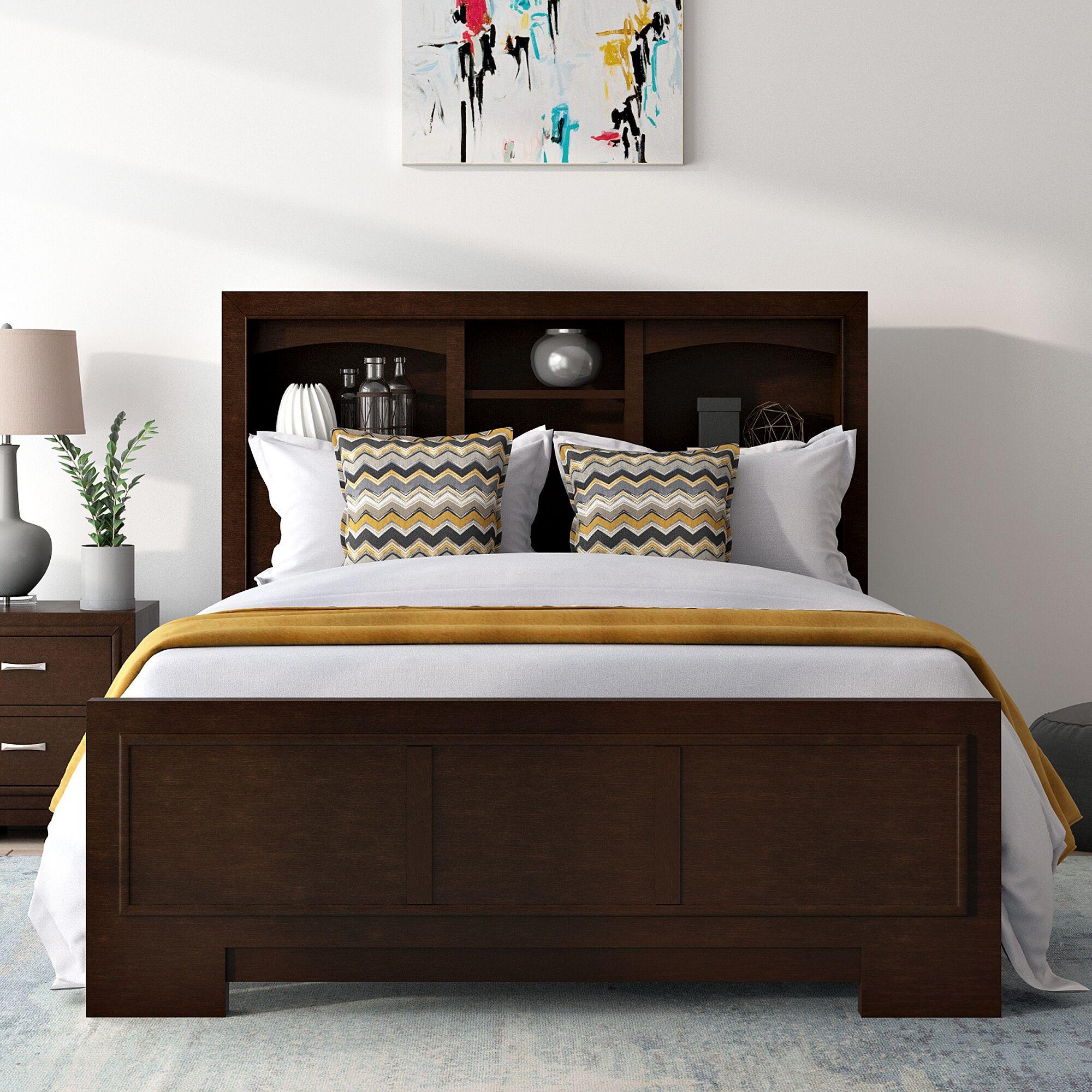 Voigt Storage Panel Bed Size: Queen