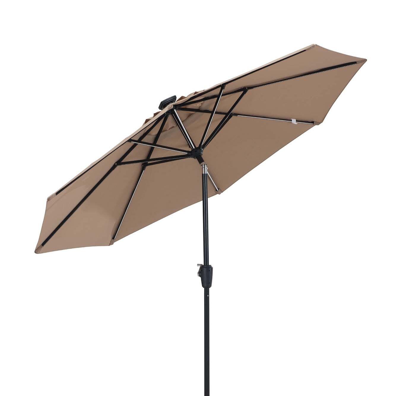 Llanes 9' Lighted Umbrella