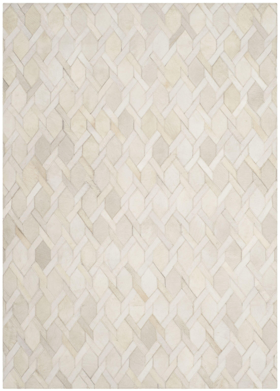 Sevastopol Hand-Woven Ivory Area Rug Rug Size: Rectangle 4' x 6'