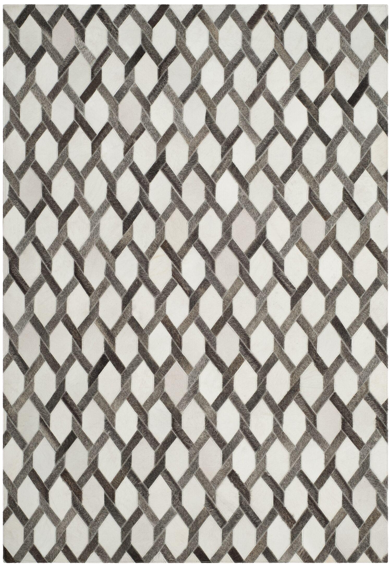 Sevastopol Hand-Woven Ivory/Gray Area Rug Rug Size: Runner 2'3