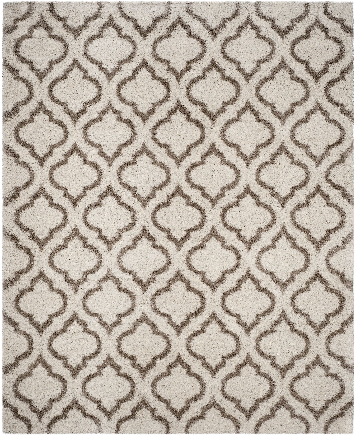 Melvin Brown/Beige Area Rug Rug Size: Rectangle 8' x 10'