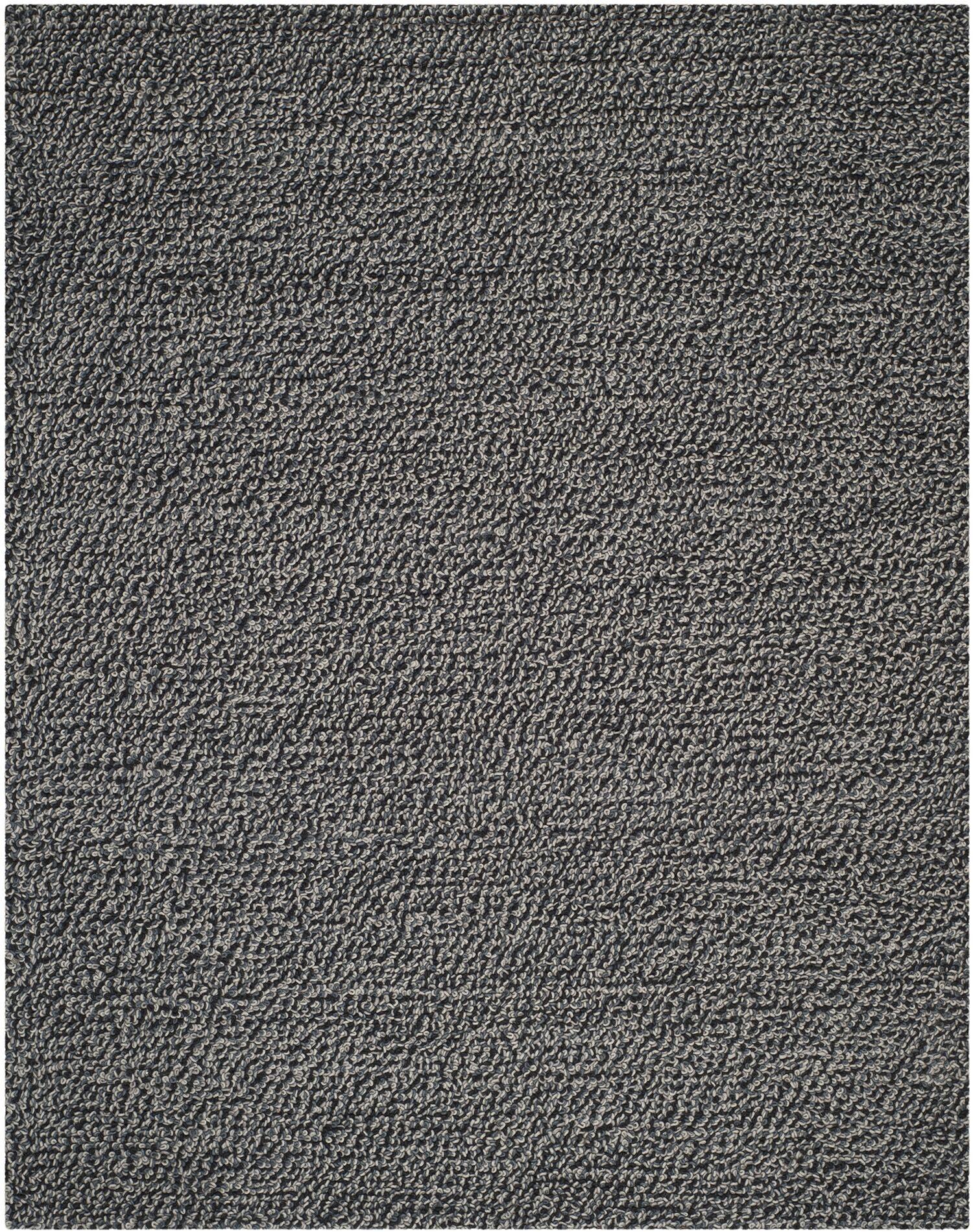 Sinope Dark Gray Area Rug Rug Size: Rectangle 8' x 10'