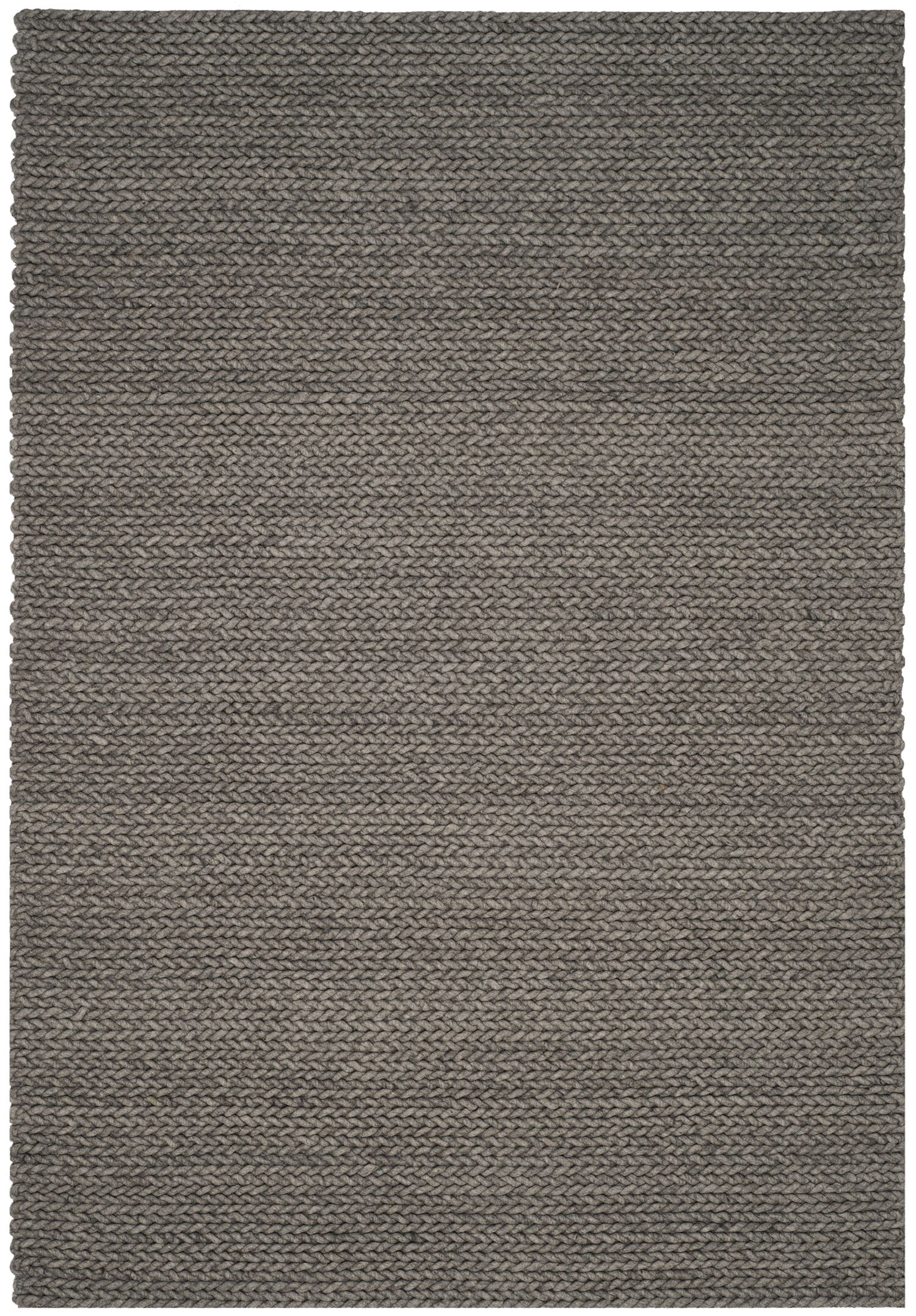 Sinope Hand-Tufted Gray Area Rug Rug Size: Rectangle 6' x 9'
