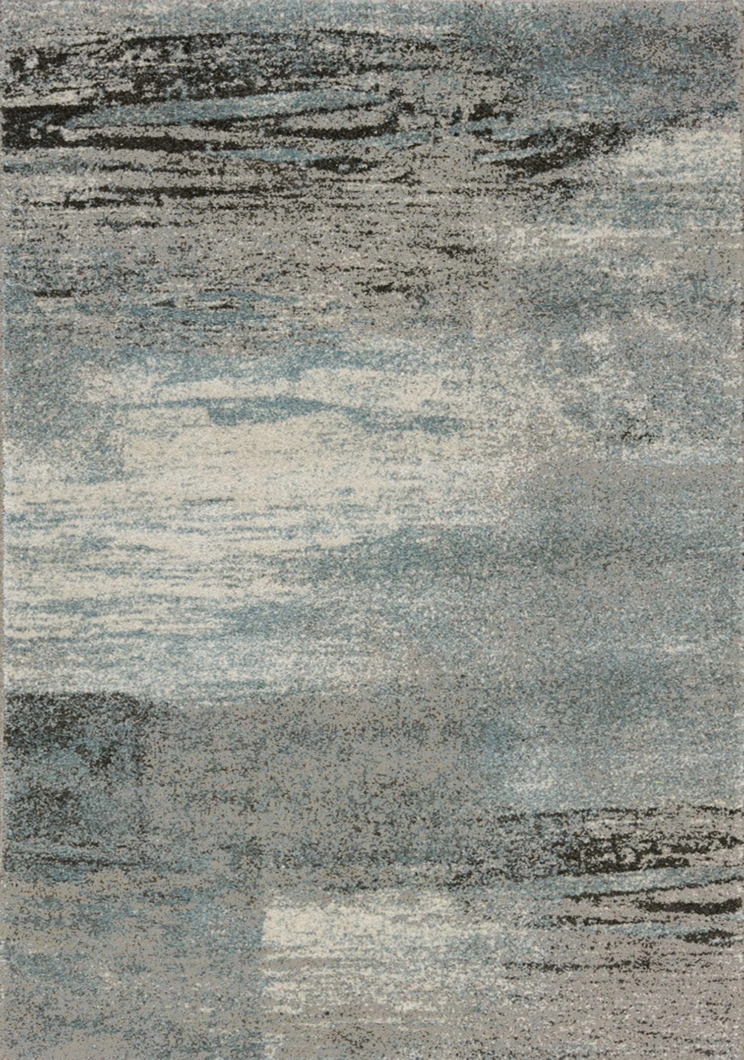 Esqueda Blend Blue Area Rug Size: 5'3