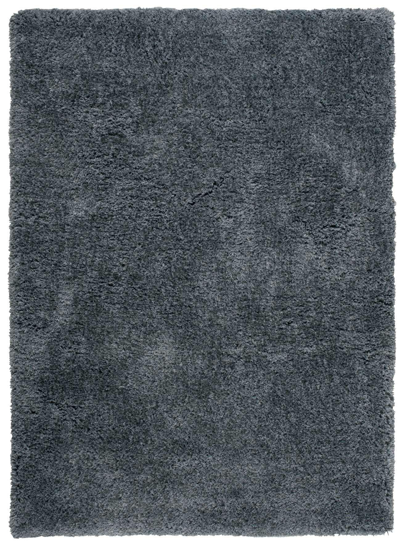 Vandiver Hand-Tufted Dark Grey Area Rug Rug Size: Rectangle 7'6