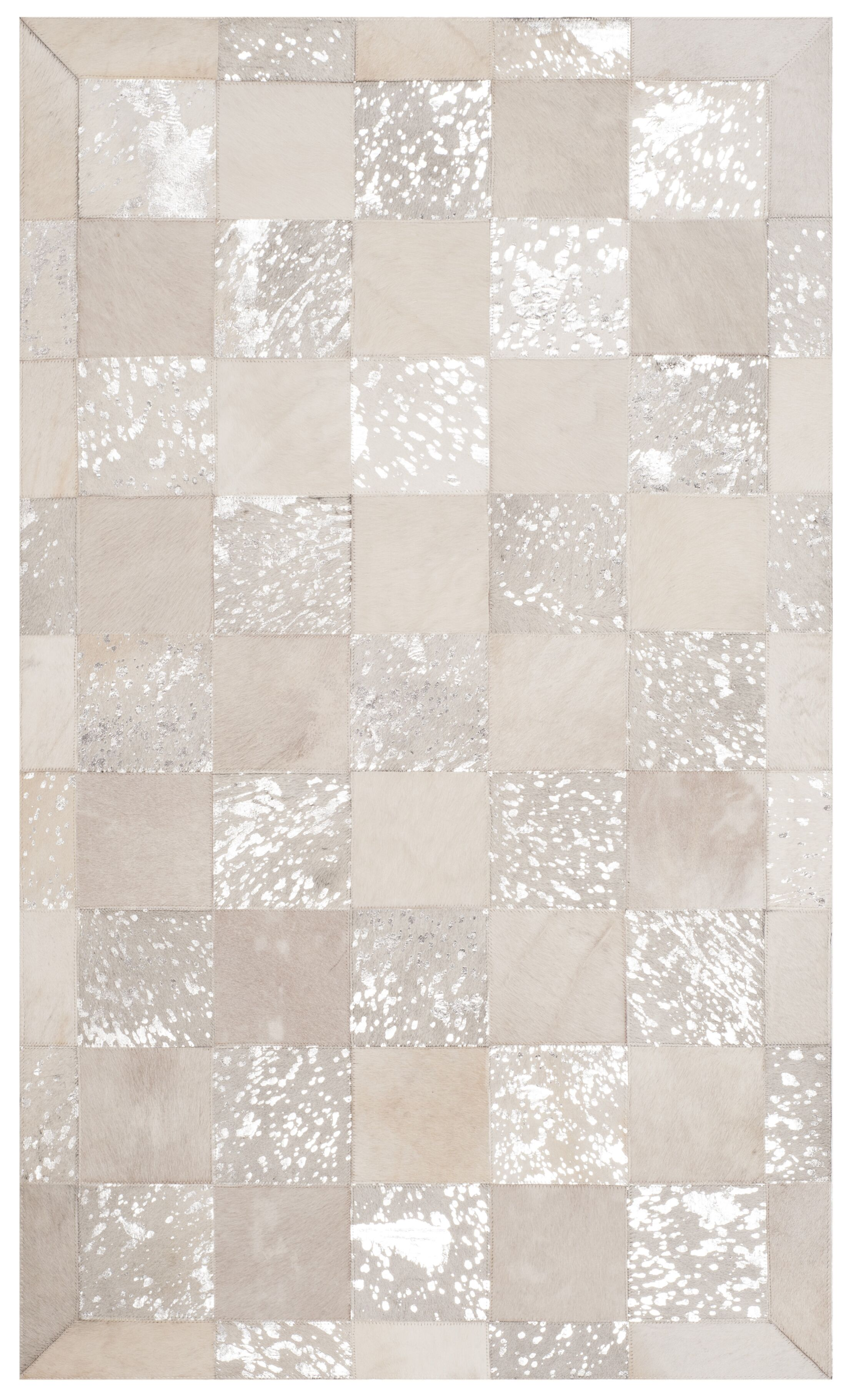 Bremner Hand-Woven Ivory Area Rug Rug Size: Rectangle 8' x 10'
