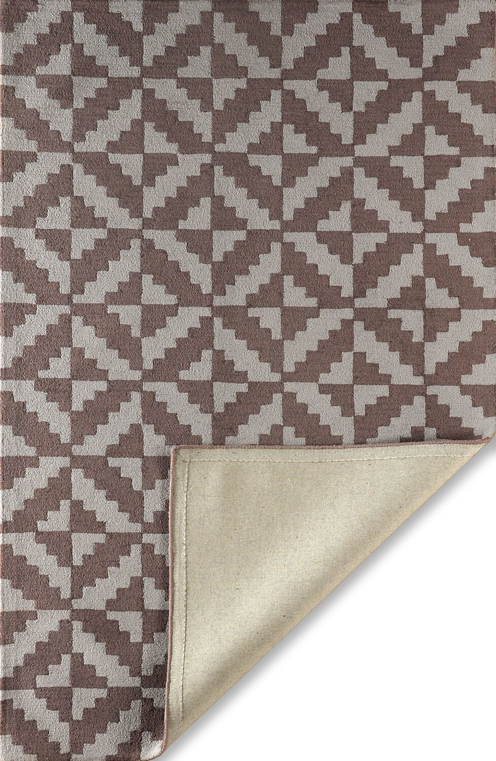 Hisey Hand-Tufted Brown/Gray Area Rug Rug Size: Rectangle 6' x 9'