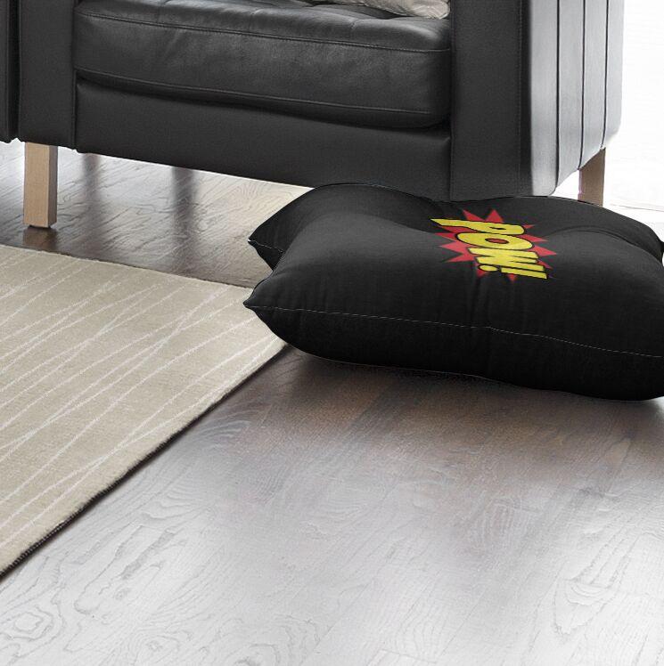 Steffen Pow Outdoor Floor Pillow Size: 26