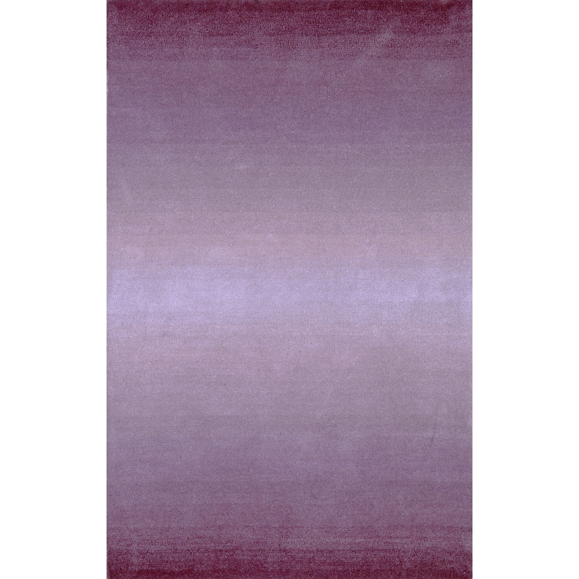 Belding Hand-Tufted Wool Purple Area Rug Rug Size: Rectangle 6'x 9'