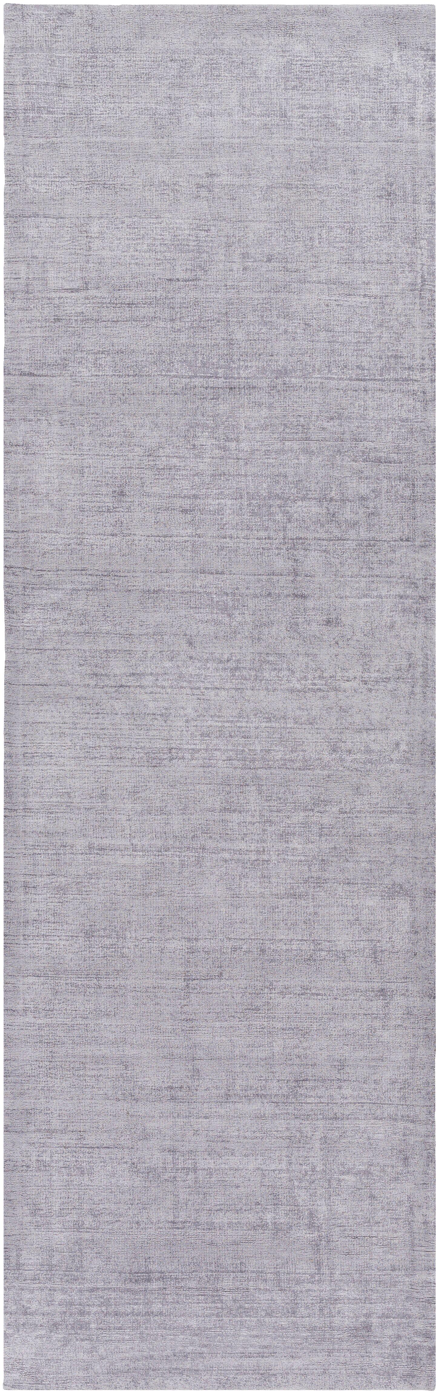 Calhoun Hand-Loomed Gray Area Rug Rug Size: Runner 2'6