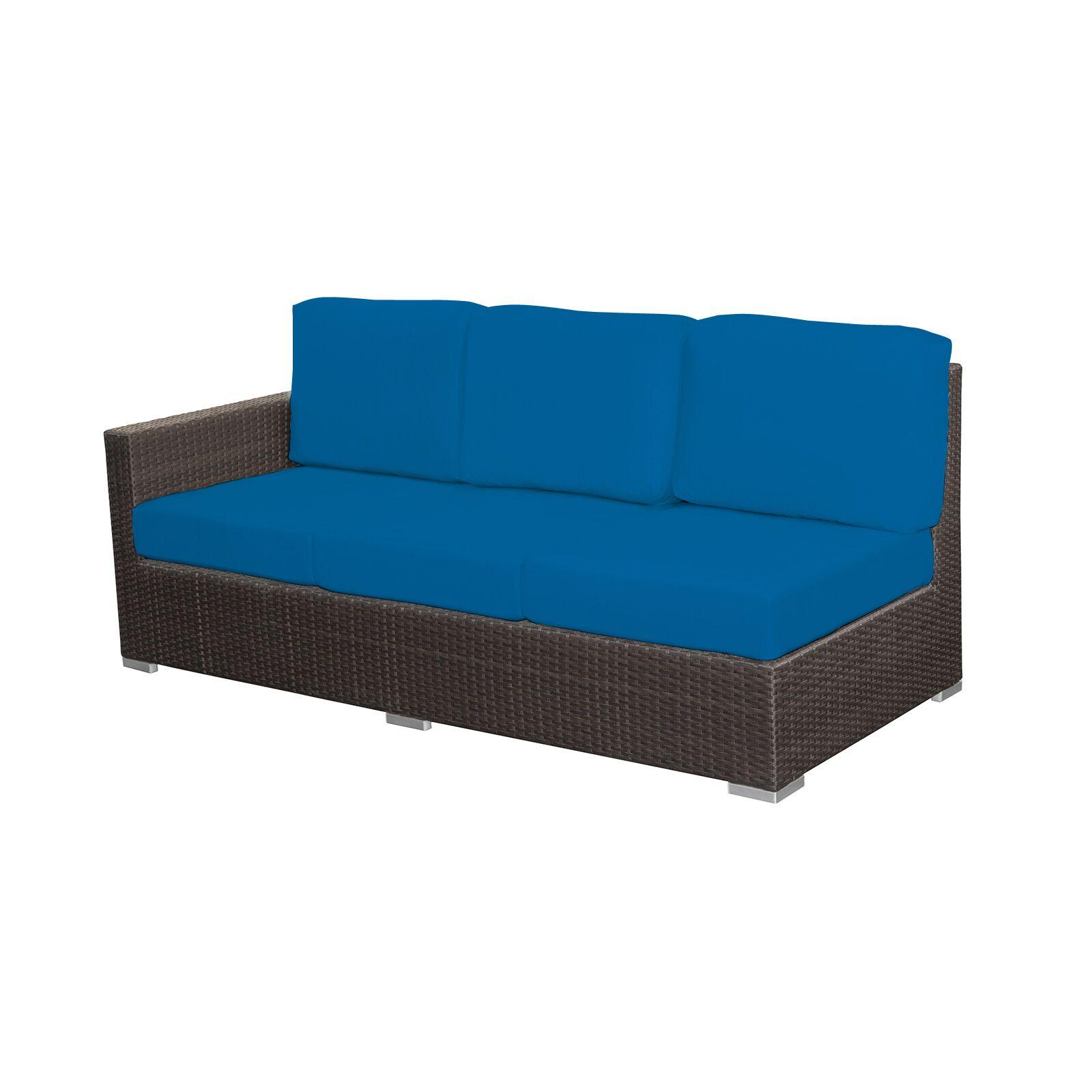 Ronning Left Arm Sofa Fabric: Sunbrella Pacific Blue