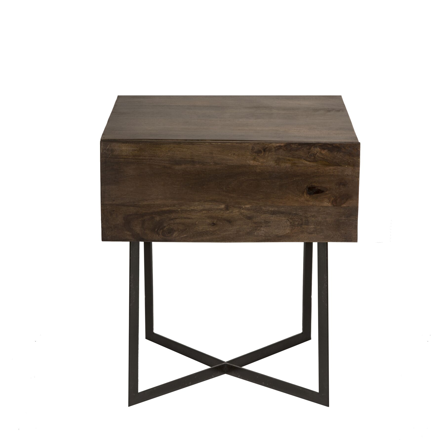 Strausbaugh End Table with Storage