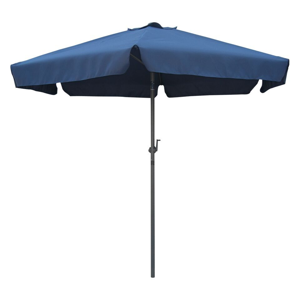 Hyperion 8' Beach Umbrella Fabric: Navy Blue