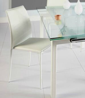 Jaymie Dining Chair Color: White